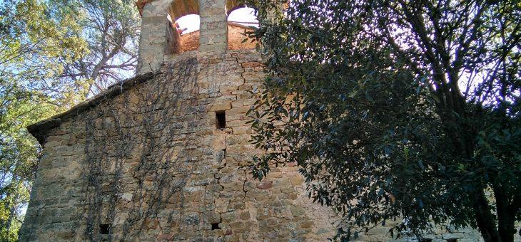 """Excursió al Pont Gòtic, Pont de les Arnaules, l'ermita romànica de """"Santa Creu de Palou"""" i Masia """"El Farell""""."""