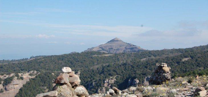 Excursió al Parc de Sant Llorenç pel Montcau, els Òbits i el Morral Gran.